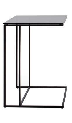 VIG Furniture VGIDBC0011 Modrest Baldwin Series Modern Metal Rectangular None Drawers End Table