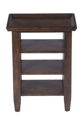 Broyhill 339907 Attic Heirlooms Series Traditional Rectangular No Drawers End Table