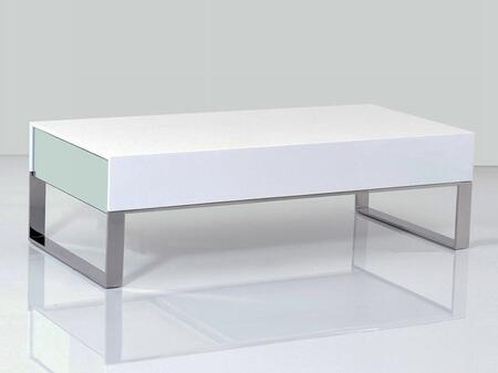 VIG Furniture VGHB170A White Contemporary Table