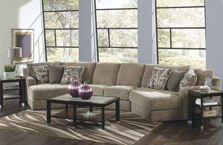 "Jackson Furniture Malibu Collection 3239-92-29-96- 194"" 3-Piece Sectional with Left Arm Facing Piano Wedge, Armless Loveseat and Right Arm Facing Piano Wedge in"