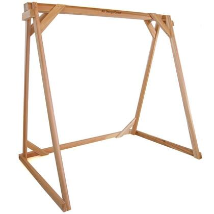 All Things Cedar AFXX Swing A-Frame with Western Red Cedar Construction, Mounting Hardware and 600 lbs. Weight Capacity