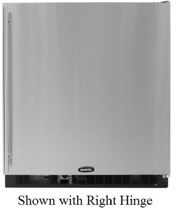 Marvel 80RFWWFL  Compact Refrigerator with 7.16 cu. ft. Capacity in Stainless Steel