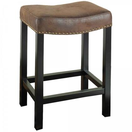 Armen Living LCMBS013BAWR30 Residential Fabric Upholstered Bar Stool