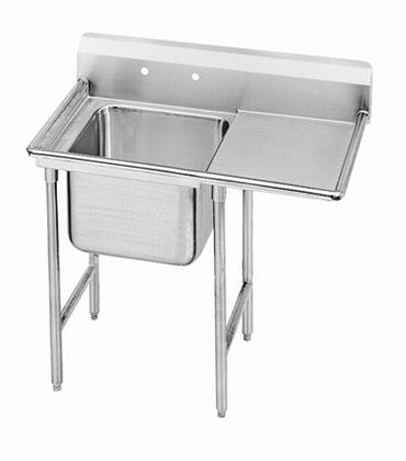 Advance Tabco One Compartment , Right Side Drainboard