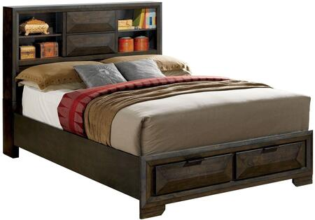 Furniture of America CM7557QBED Nikomedes Series  Queen Size Bed