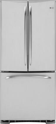 """GE Profile PFSS0MFCSS Freestanding French Door 19.5 cu. ft. No 30"""" 29.75"""" French Door Refrigerator 