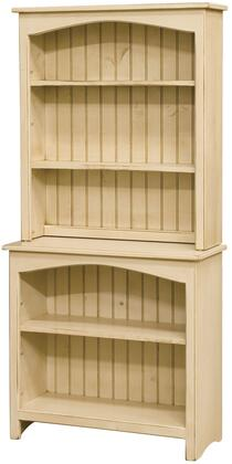 Chelsea Home Furniture 465108B Concord Series Wood 2-3 Shelves Bookcase