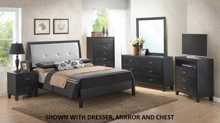 Glory Furniture G1250EKB3NTV G1250 King Bedroom Sets