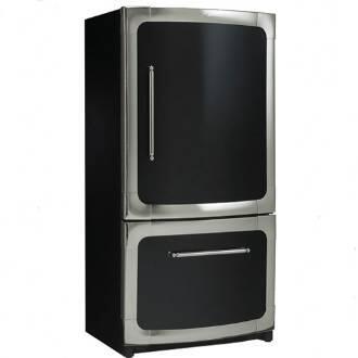 Heartland 311500R0400 Classic Series Counter Depth Bottom Freezer Refrigerator with 20 cu. ft. Total Capacity 5.5 cu. ft. Freezer Capacity 4 Glass Shelves