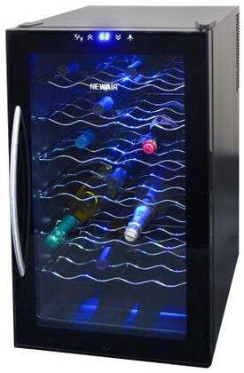 "NewAir AW280E 20"" Freestanding Wine Cooler, in Black"