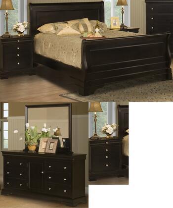 New Classic Home Furnishings 00013QSBDMNN Belle Rose Queen B