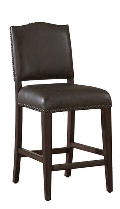 American Heritage 130896SDL41 Residential Bonded Leather Upholstered Bar Stool