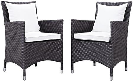 Modway EEI2188EXPWHISET Rectangular Shape Patio Sets