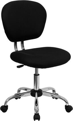"Flash Furniture H2376FBKGG 23.5"" Adjustable Contemporary Office Chair"