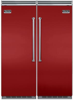 Viking 734245 5 Side-By-Side Refrigerators