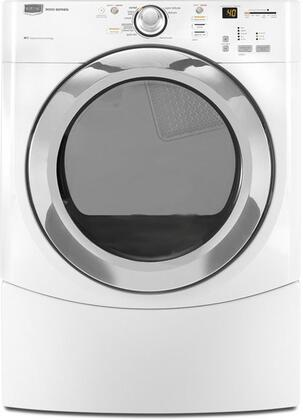 """Maytag MEDE500VW Front Load Electric No 27"""" Dryer 