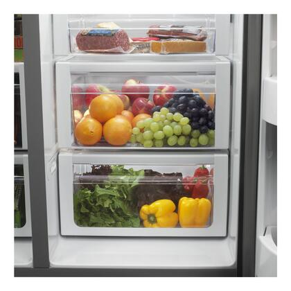 Whirlpool Gsc25c6eyy Gold Series Side By Side Refrigerator