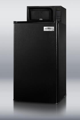 Summit MRF43  Compact Refrigerator with 3.6 cu. ft. Capacity in Black