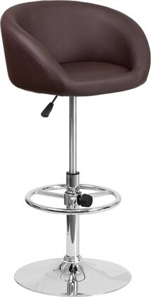Flash Furniture CHTC31066LBRNGG Residential Vinyl Upholstered Bar Stool
