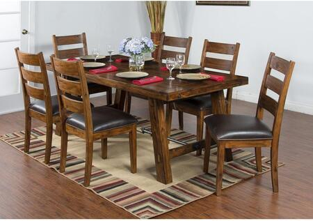 Sunny Designs 1367VMDT6C Tuscany Dining Room Sets
