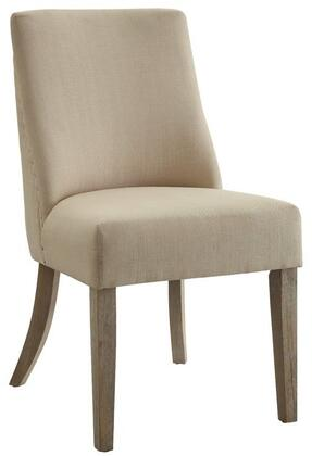 Coaster 180251 Antonelli Series Transitional Fabric Wood Frame Dining Room Chair