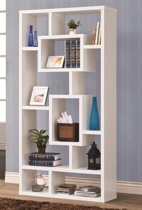 Coaster 800157 Bookcases Series Wood 10 Shelves Bookcase