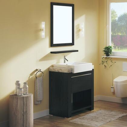 Bellaterra Home 804375 Vanity and Mirror Set