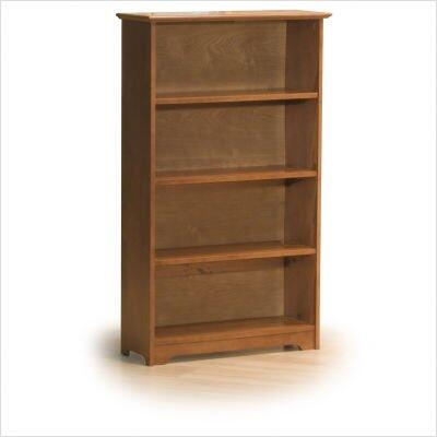 Atlantic Furniture FTBLC  Solid Hardwood 4 Shelves Bookcase