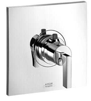 Axor 39711 Axor Citterio Thermostatic Valve Trim Only with Metal Lever Handle: