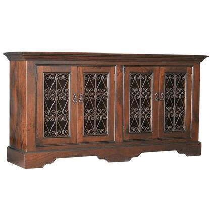 Home Trends & Design FCAPC70P Freestanding Wood Cabinet