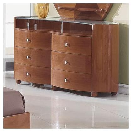 Global Furniture USA EvelynDresser Evelyn Contemporary Dresser with 6 Drawers