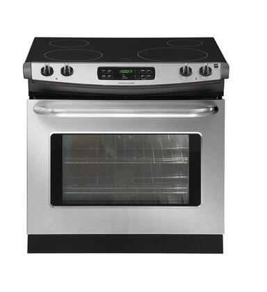 """Frigidaire FFED3025LS 30"""" Slide-in Electric Range with Smoothtop Cooktop 4.2 cu. ft. Primary Oven Capacity"""