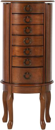 Powell 318 Jewelry Armoire with Black Lining