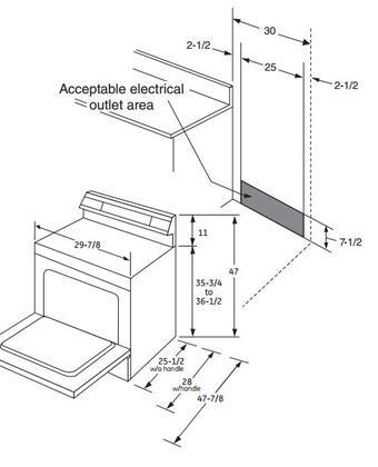 Ge Jb750djww 30 Inch White Electric Freestanding Range With