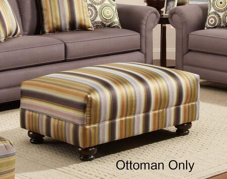 Chelsea Home Furniture 632239002 Trieste Series Transitional Polyester Ottoman