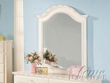 Acme Furniture 11040 Zoe Series Arched Portrait Dresser Mirror