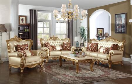 Meridian 6763PCSTLARMKIT1 Bennito Living Room Sets