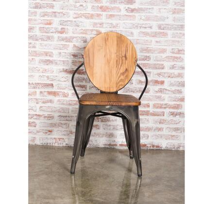 Fine Mod Imports FMI10230 Metal Dining Chair