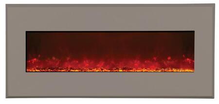 Amantii WMBI586421MODERNAUBURN Wall Mountable Electric Fireplace