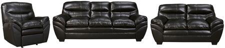 Milo Italia MI6972SLRBLAC Jaylee Living Room Sets