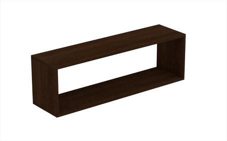 """Accentuations Tichla 1.0 Collection 46AMCXX 35"""" Rectangle Floating Shelf with High Quality MDP in"""