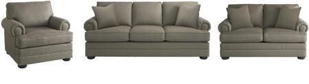 Bassett Furniture 3913FCFC1618SLC Hyde Park Living Room Sets