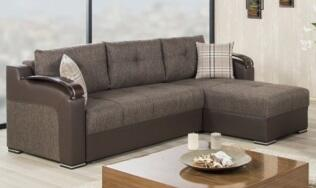 Kalinka Brown Sectional