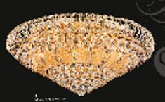 "J & P Crystal Lighting Corona Collection SP81076F-32 32"" Wide Chandelier in X Finish"