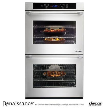 """Dacor RNO227FS 27"""" Double Wall Oven, in Stainless Steel with Flush Handle"""