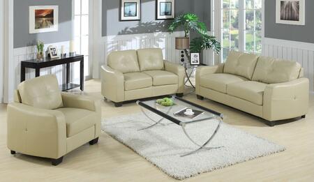 Yuan Tai MR7661T Leather Living Room Set