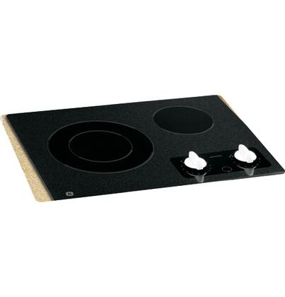 GE JP256WMWW CleanDesign Series Electric Cooktop