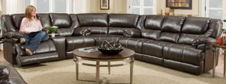 Simmons Upholstery 50451BR076365BINGOBROWN Bingo Living Room