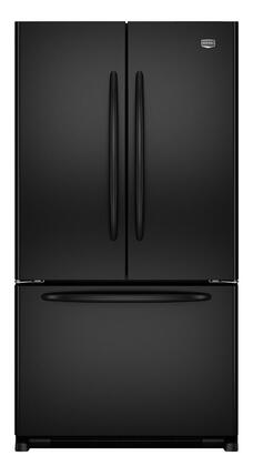 Maytag MFF2558VEB  French Door Refrigerator with 24.8 cu. ft. Total Capacity 5 Glass Shelves