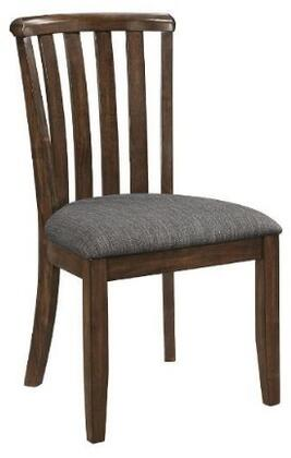Coaster 107402 Prescott Series Transitional Fabric Wood Frame Dining Room Chair